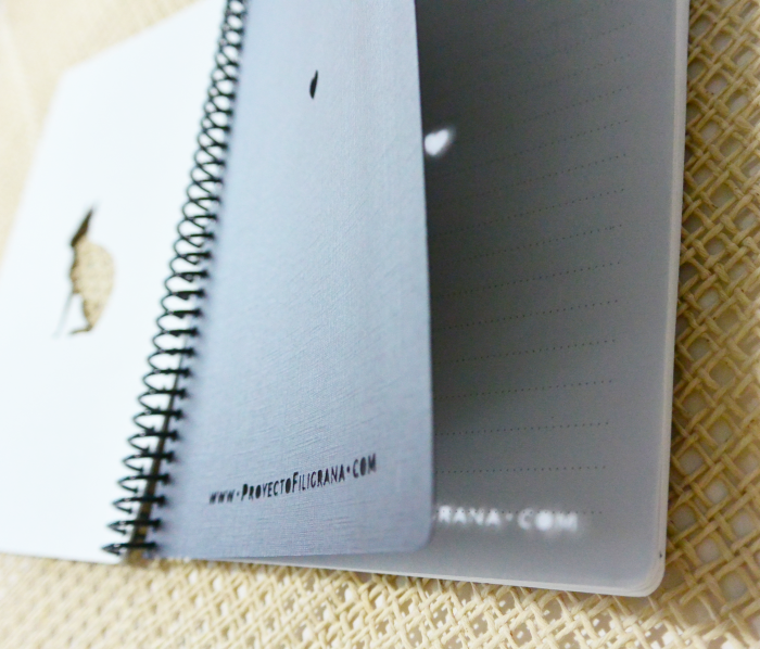 Proyecto Filigrana - cuaderno Mara patagónica