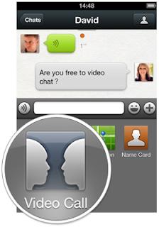 cara menggunakan video call wechat