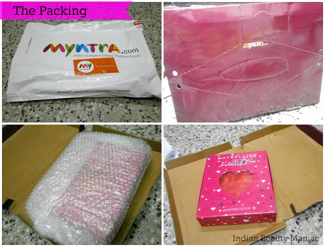 Myntra.com product packing