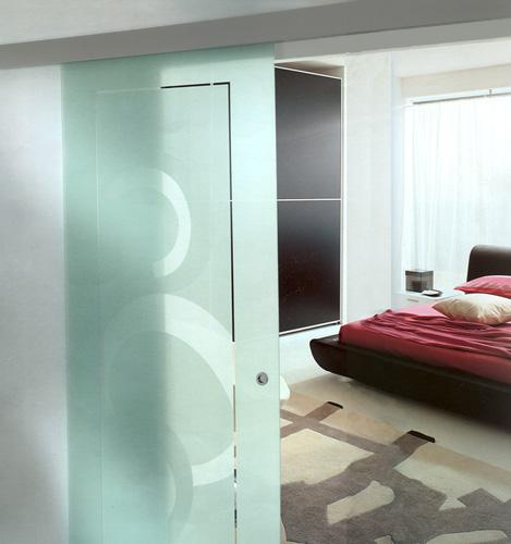 Puertas interiores de vidrio ideas para decorar dise ar for Disenos de puertas en madera y vidrio