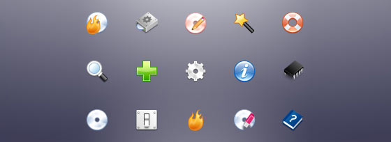 Free Alcohol Software Icons Set