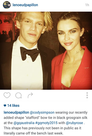 Cody Simpson Wearing LNP