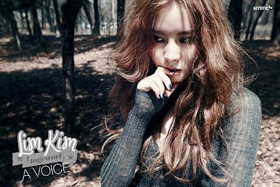 Lim Kim A Voice Concept Photo Beauty