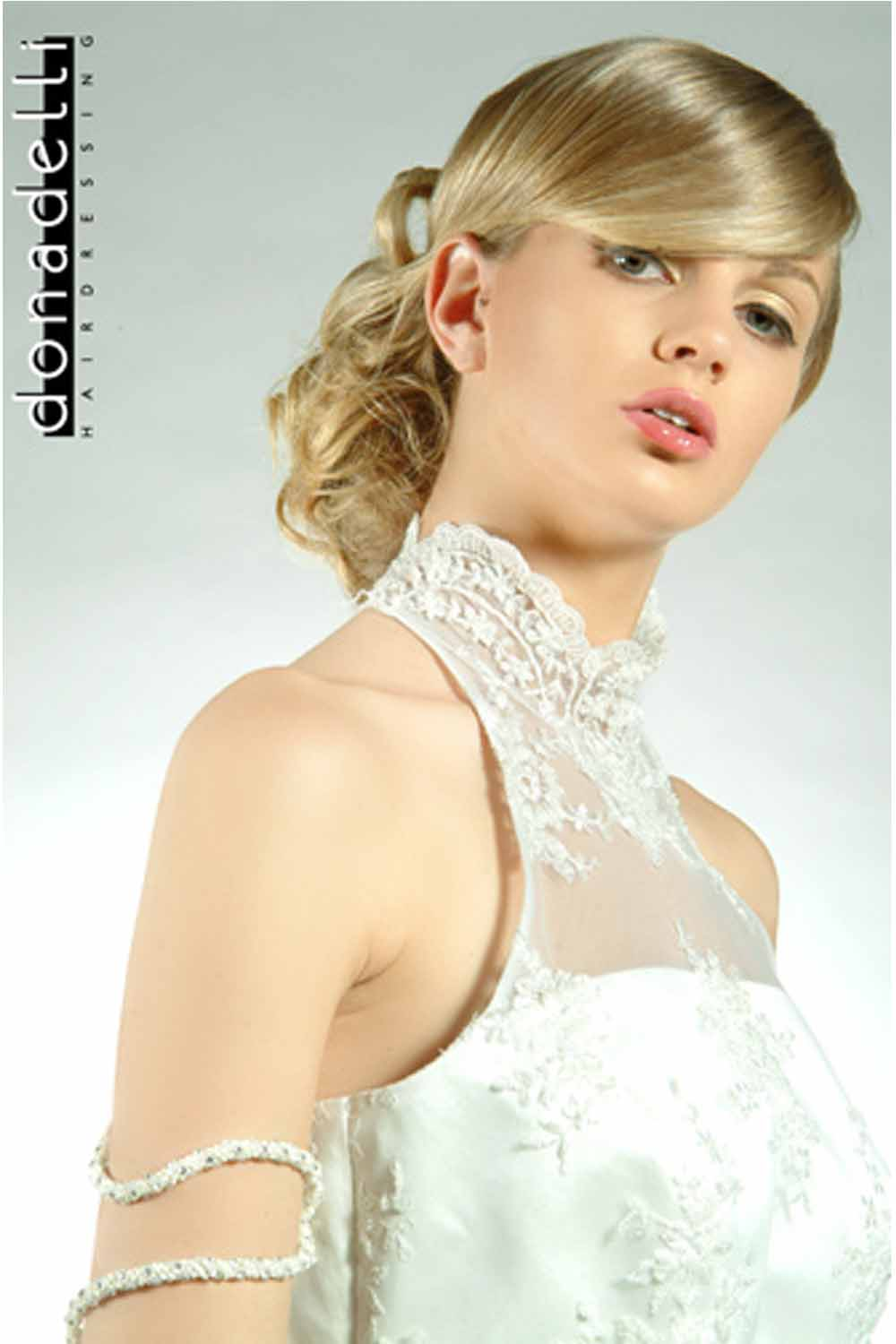 Medium Length Wedding Hairstyles 2013