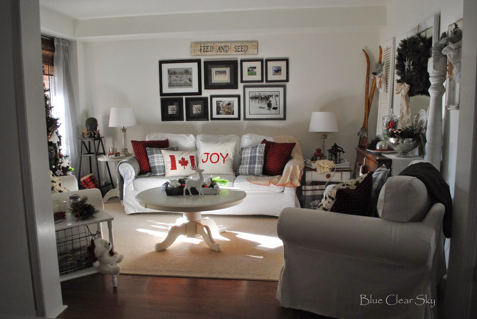 how to create a cozy family room