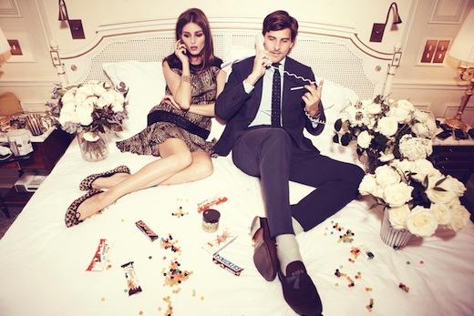 Olivia Palermo y Johannes Huebl en hotel