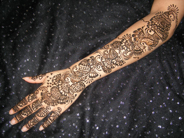 Pictures: Mehndi Designs