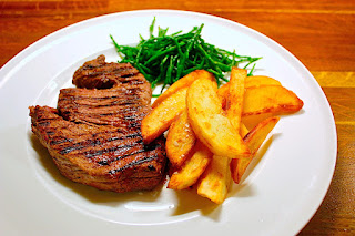 Steak, Chips & Samphire