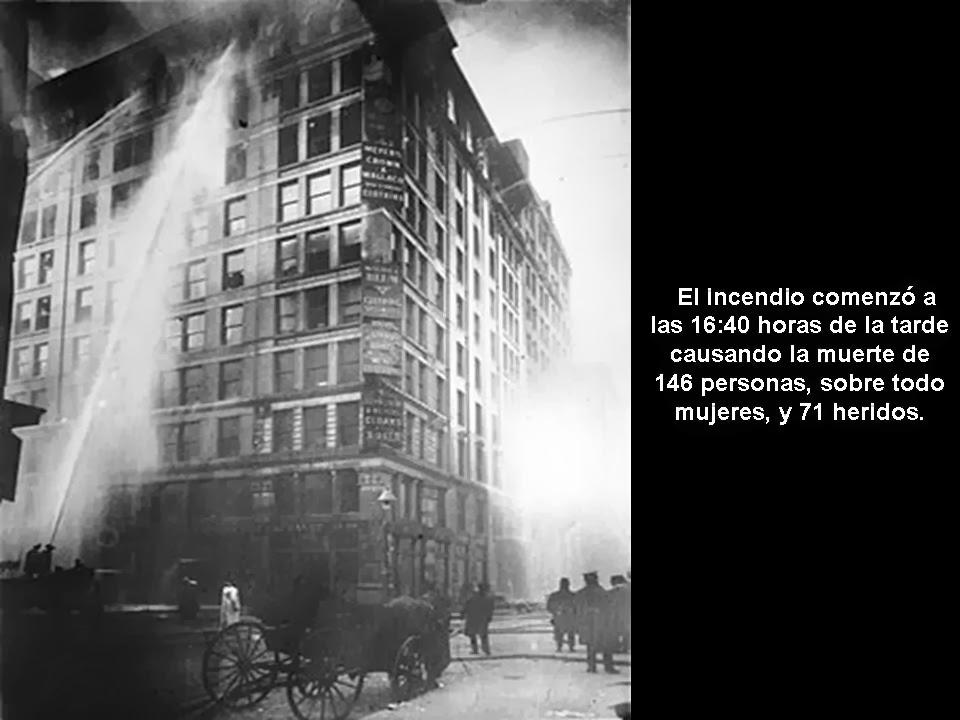 El Fantasma Bayones Dia Internacional De La Mujer Incendio En La