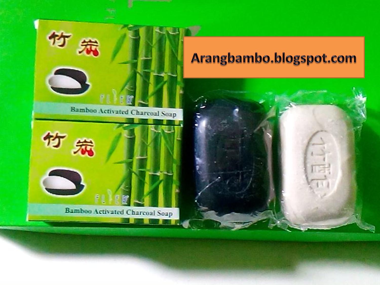 Manfaat Sabun Arang Bambu