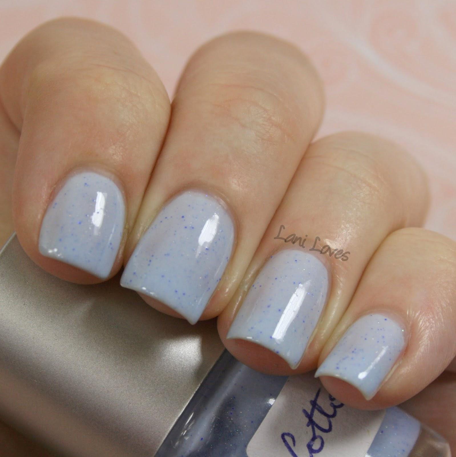 Star Kin Cotton nail polish swatch