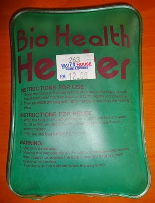 cara menggunakan bio health heater