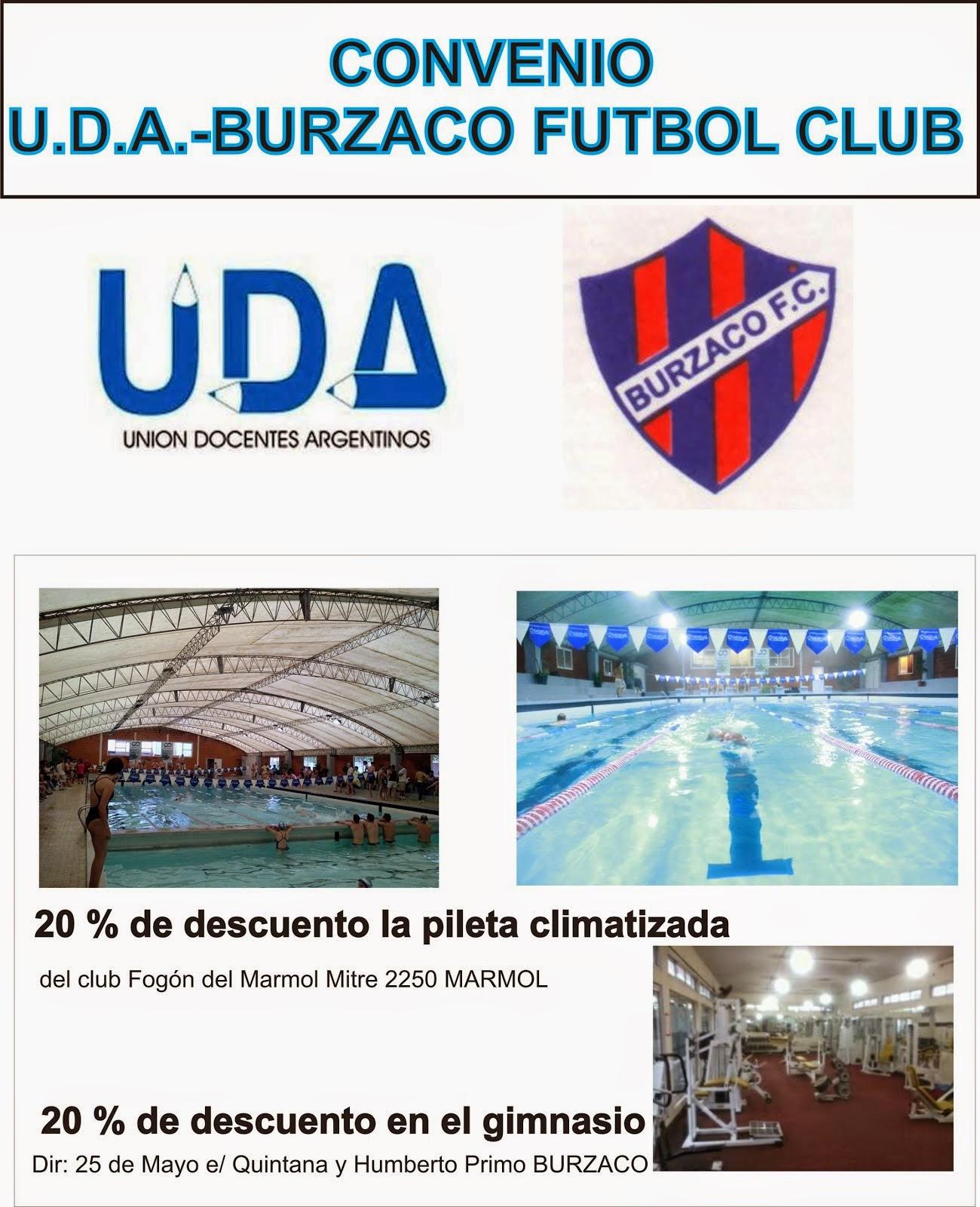 convenio con Burzaco F. C.