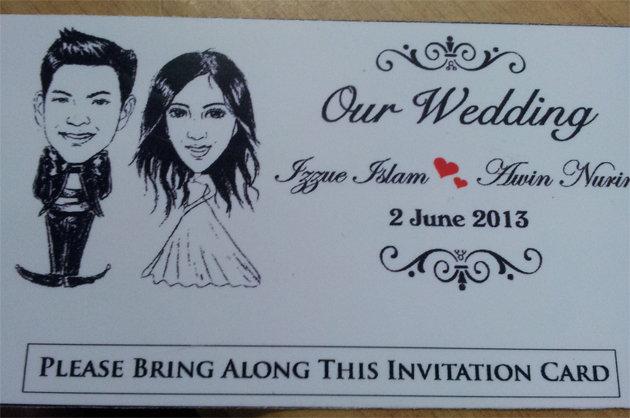 Perkahwinan Izzue Islam Dan Awin