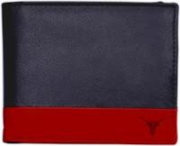 Hidekraft Men Formal Green Leather Wallet 14 Card Slots with warranty at ? 499 Via Flipkart