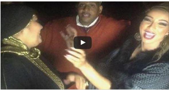 فيديو ... رقص دنيا بطمة و امها و زوجها على إقاعات الدقة المراكشية