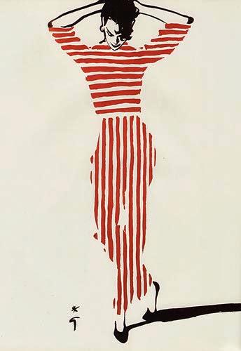 Ilustraciones de moda de Rene Gruau