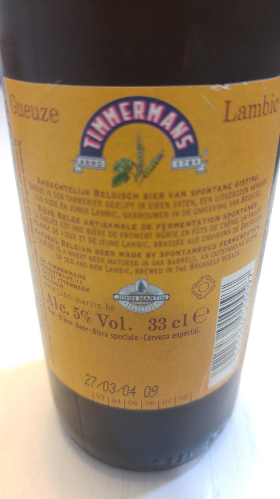 Y creo que he bebido tasting and testing beers del for Picor en el interior del ano