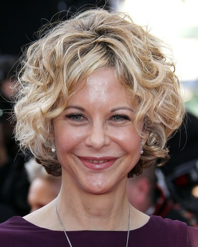 Celebrity short curly hairstyles 2011
