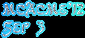 MCACME'12