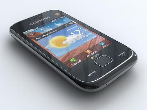 Samsung C3312 (giá 1,5 triệu đồng)