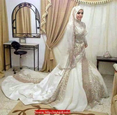 Robe mariée hijab chic