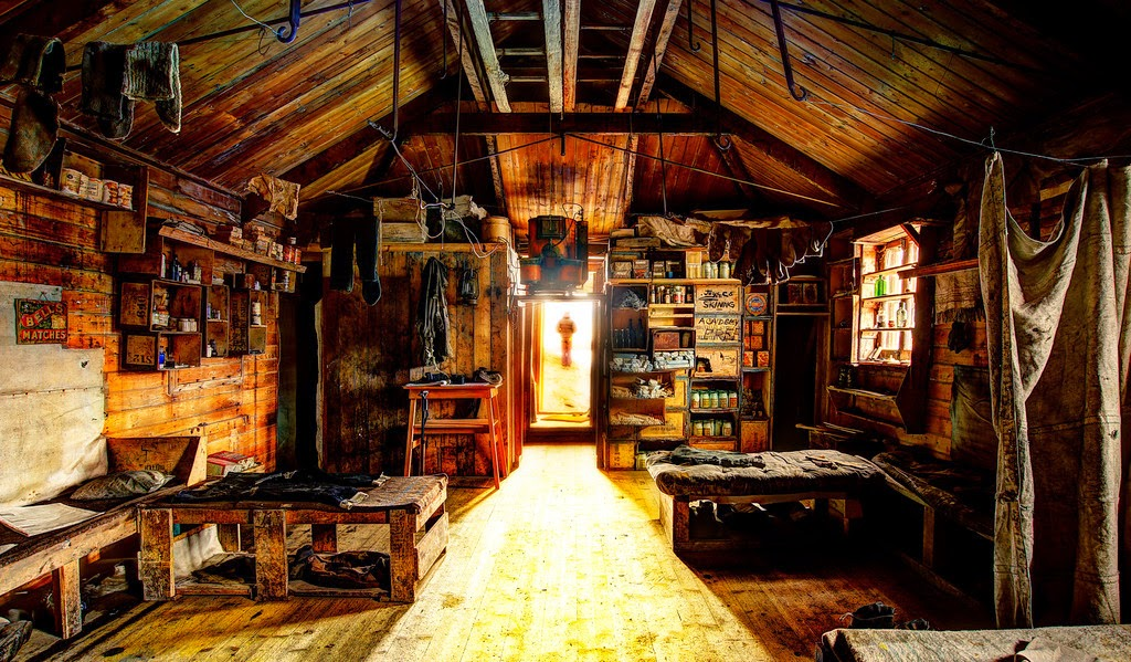 Base de vie Shackleton