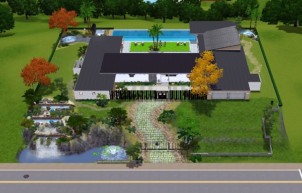 STAR HOUSE THE SIMS 3
