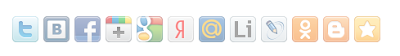 seo buttons share42 blogger