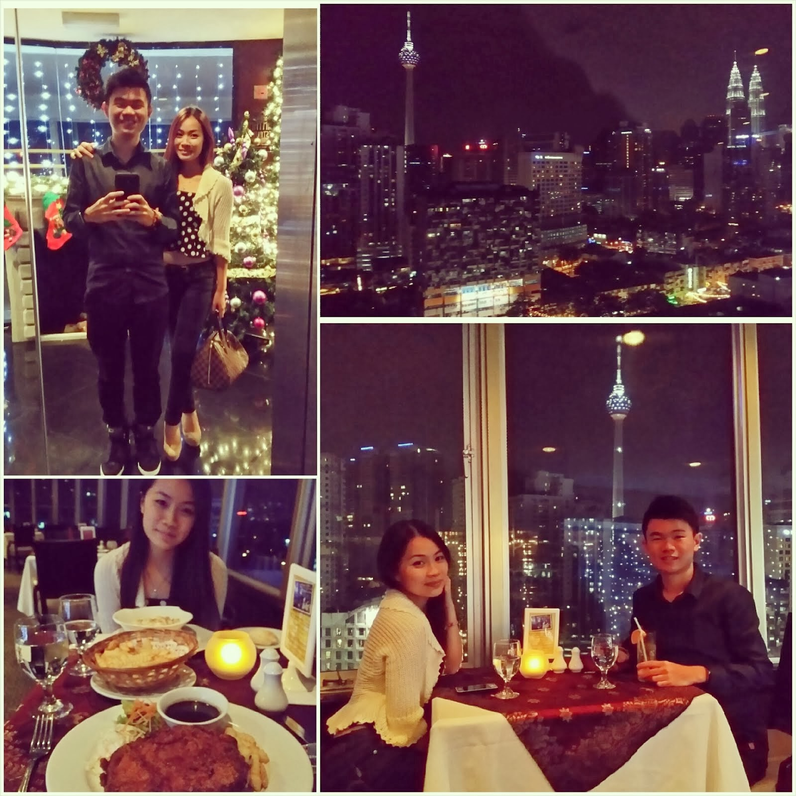 NEW YEARS EVE AT THE REVOLVING RESTAURANT FEDERAL HOTEL KL