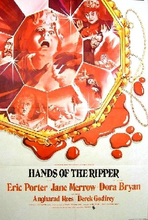 Hands Of The Ripper Arthouse Poster