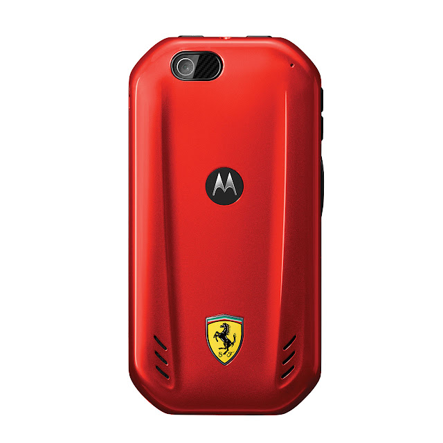 Motorola i867 Ferrari back