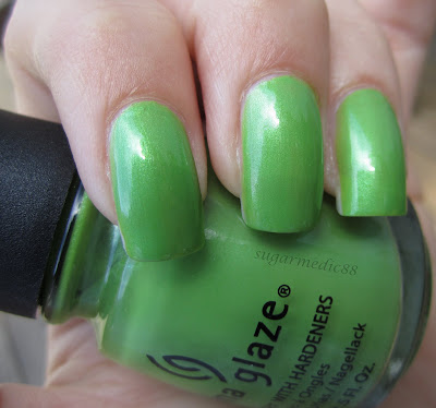 China Glaze Tree Hugger Swatch