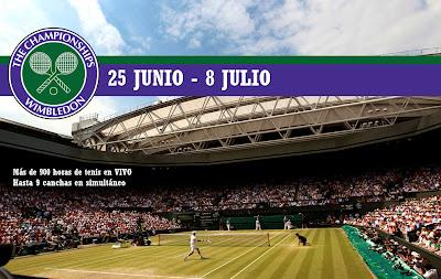 ESPN Play, tennis, tenis, ESPN Play en vivo, ESPN Play tenis, Wimbledon