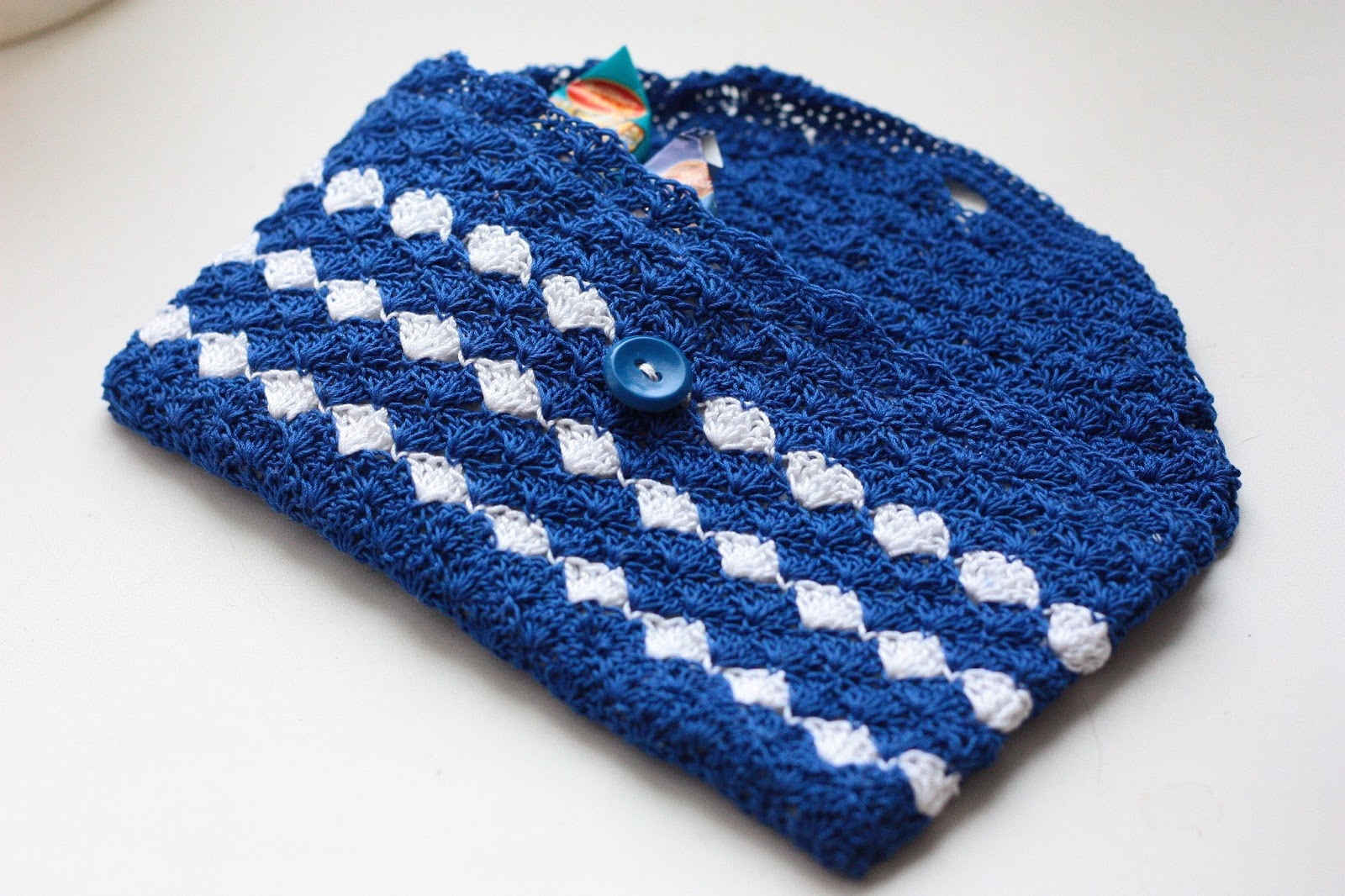 Вязание крючком-косметички 91