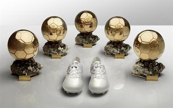 adidas botas Leo Messi cinco Balones de Oro