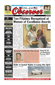 Fil-Am Observer April 2013 Issue