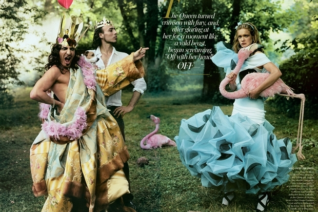 Annie Leibovitz Alice in Wonderland