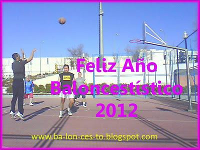 Feliz Baloncestístico Año 2012