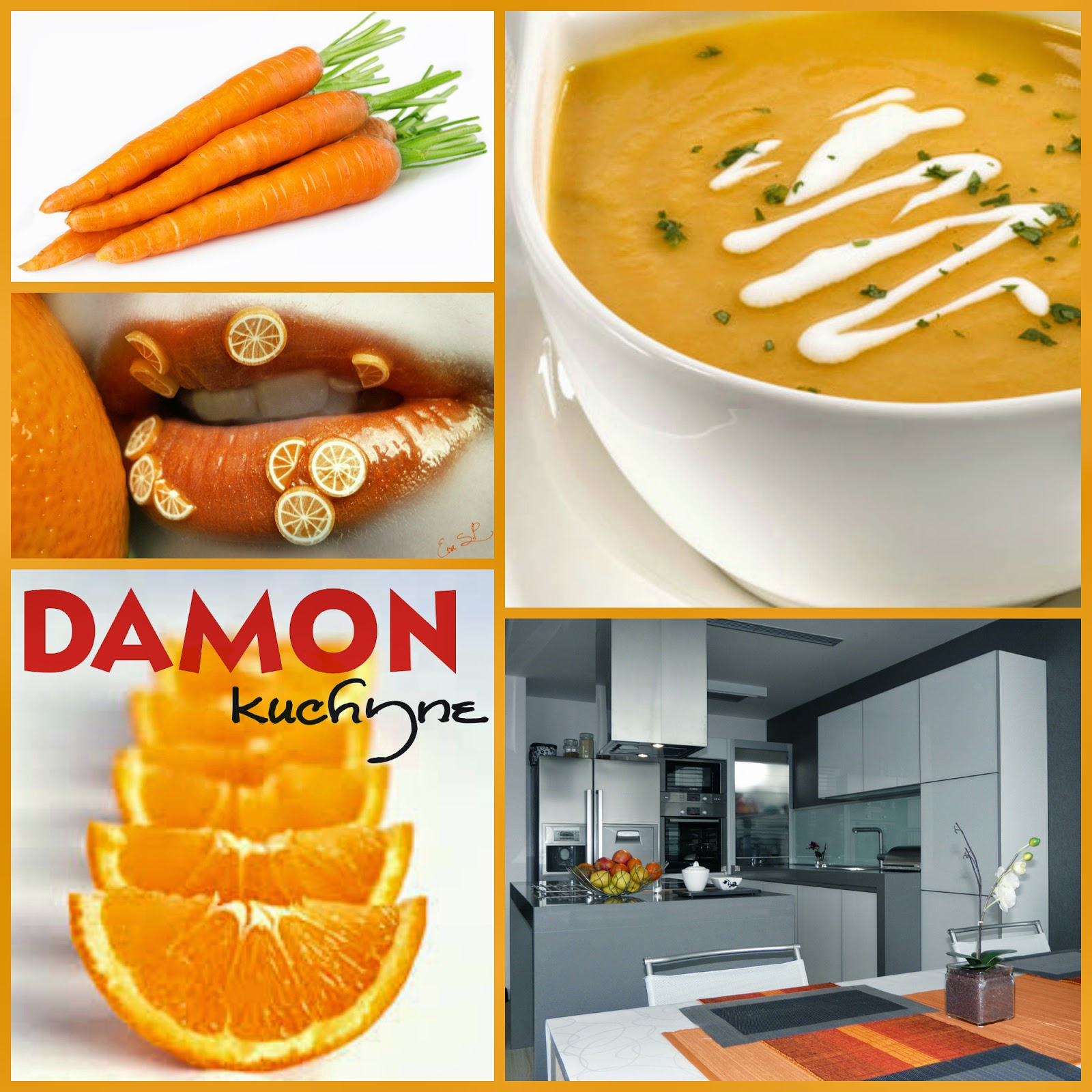 Pomarančovo-mrkvová polievka
