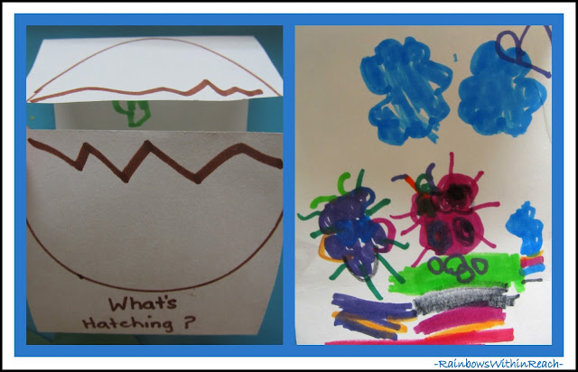 photo of: Early Education Foldables for Spring via RainbowsWithinReach