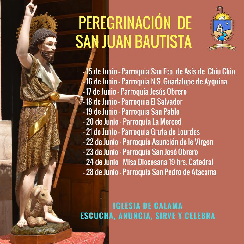 Peregrinacion San Juan Bautista