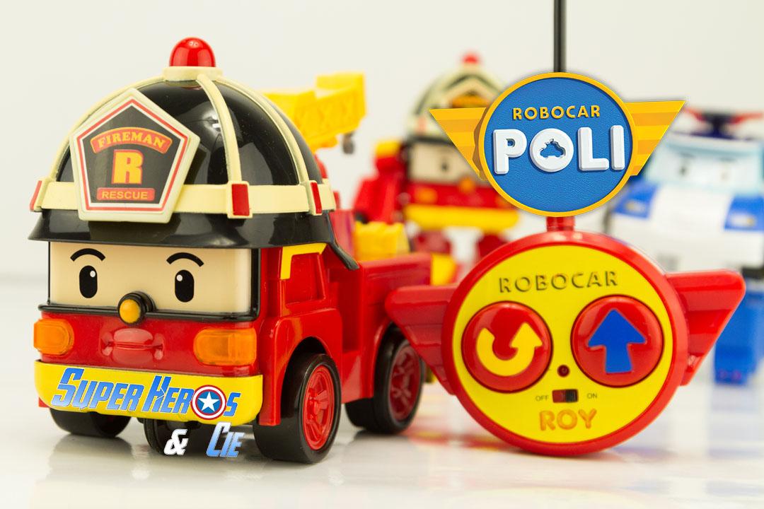 Super h ros et compagnie robocar poli roy le pompier - Robocar poli pompier ...
