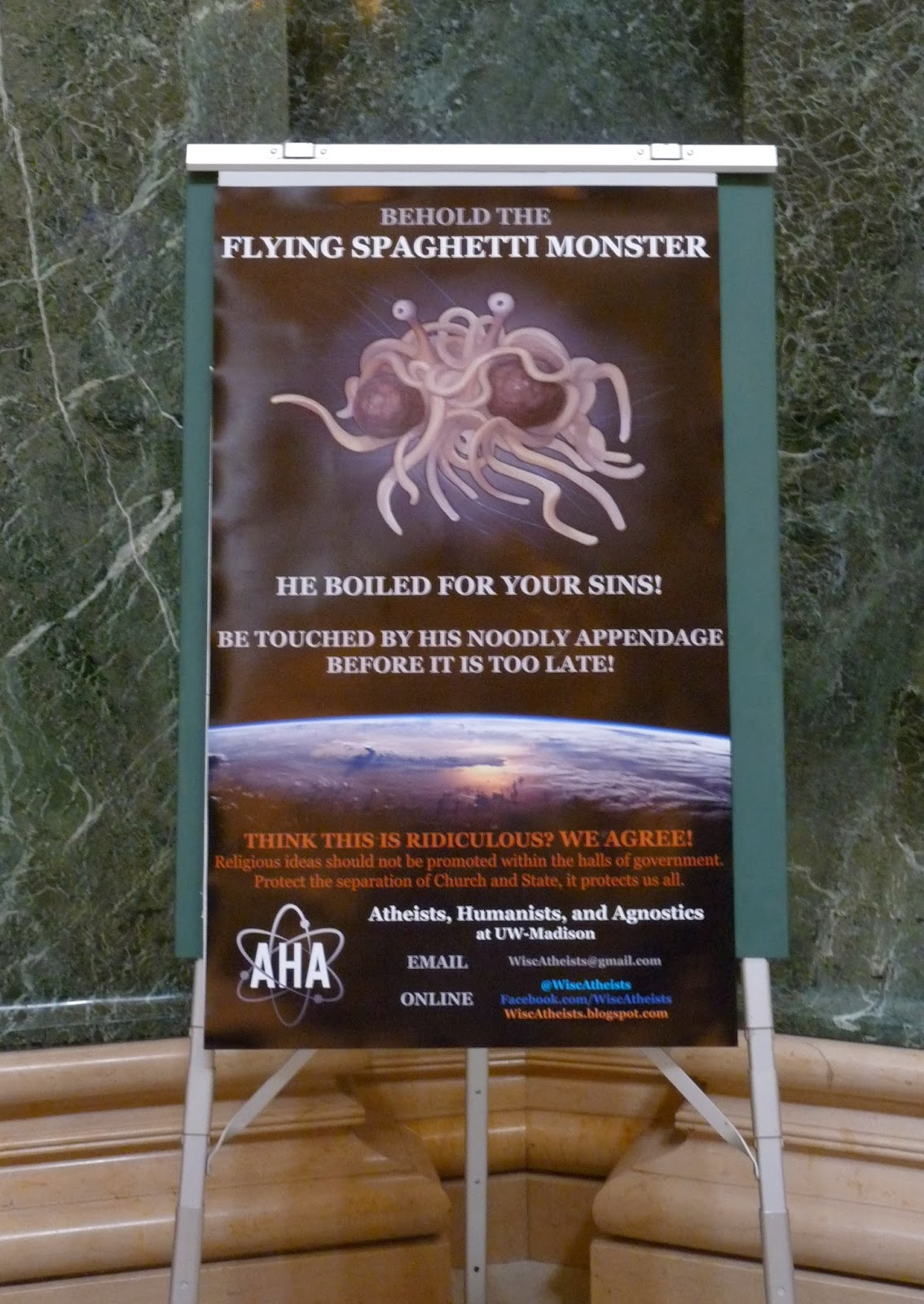 flying spageti monster
