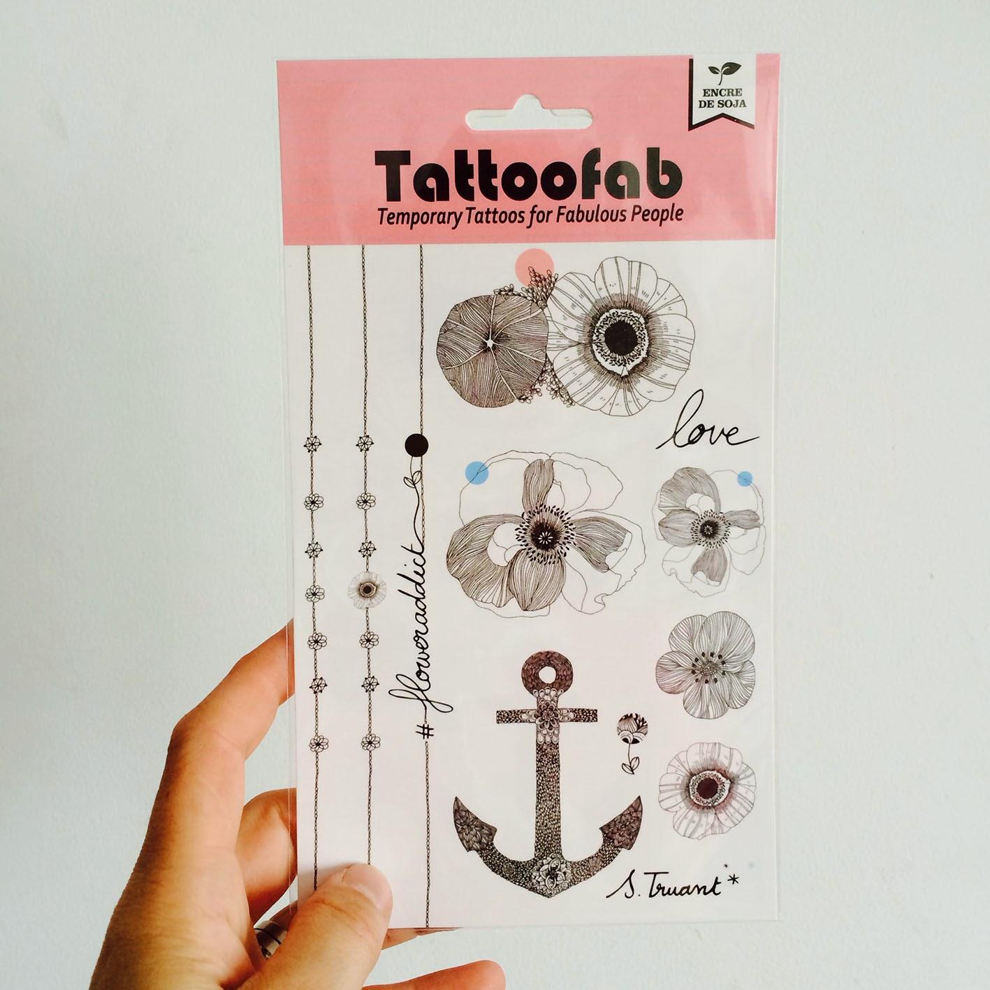 Claire's Maquillage Ton préféré Tatouage - Boutique Tatouage Temporaire