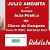 Cierre de campaña regional en Badajoz con Julio Anguita