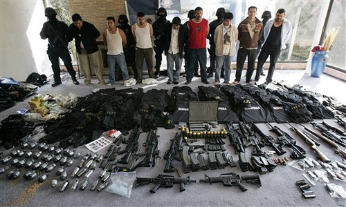 Mexico War Mexican Drug Cartels