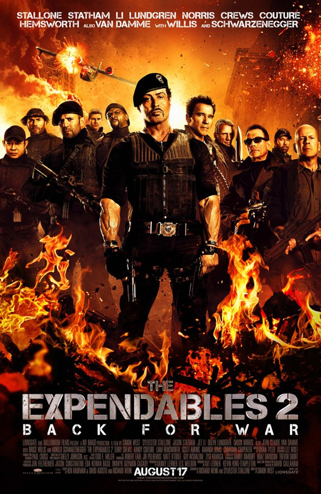 The Expendables 2 (2012) Movie,Poster