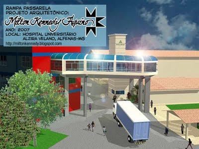 Projeto Passarela Hospital Universitário Alzira Velano