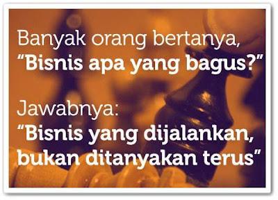 Quote Bob Sadino Bisnis Rumahan
